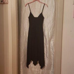 Sexy spaghetti strap dress with rouching